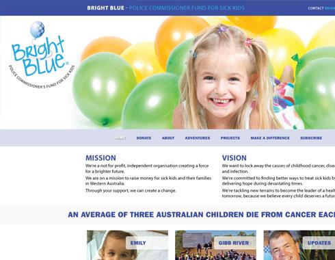Bright Blue website